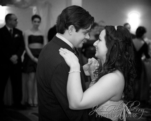 Bethany & Chris are simply lost in each other during their first dance as husband and wife.