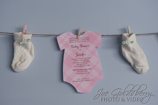 "So much more than ""just"" wedding invitations! Check out the cutest little baby shower invitation you could ever hope to recieve!"