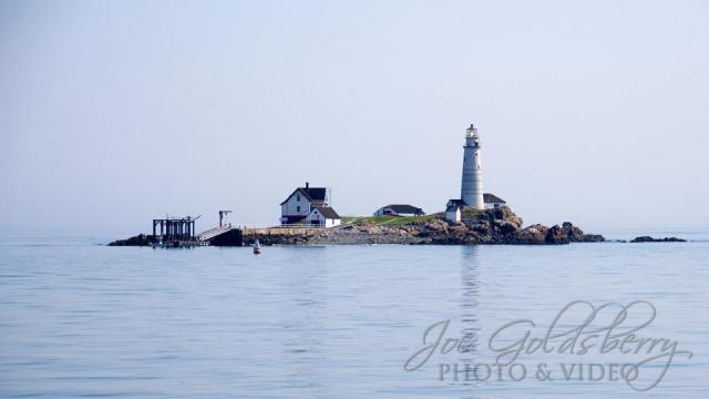 Boston Light, the first lighthouse built in the United States, and currently the second oldest working lighthouse in the country.