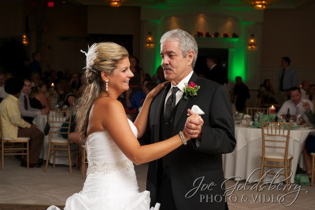 Nicole & her dad, sharing a few moments on the dance floor.