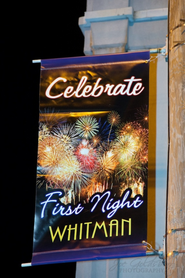Whitman, Mass: the only small town First Night in the area!